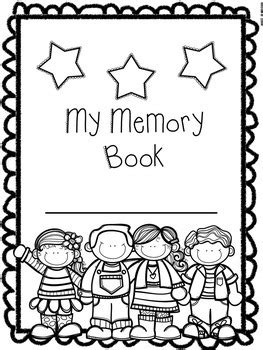 End of the Year Memory Book for Preschool, Pre-K, and