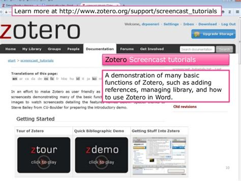 zotero guide tutorial beginners guide to zotero