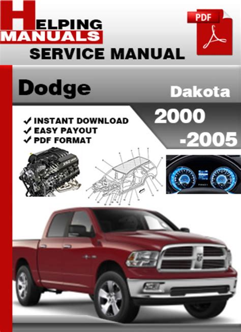 auto repair manual free download 1993 dodge dakota club lane departure warning dodge dakota 2000 2005 service repair manual download download ma