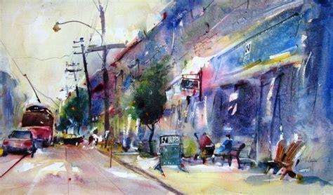 herry arifin watercolour paintings urban watercolours by herry arifin watercolour