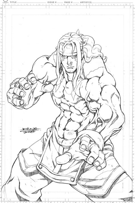 Fighter V Sketches by Fighter Remix Cover By Ngboy On Deviantart