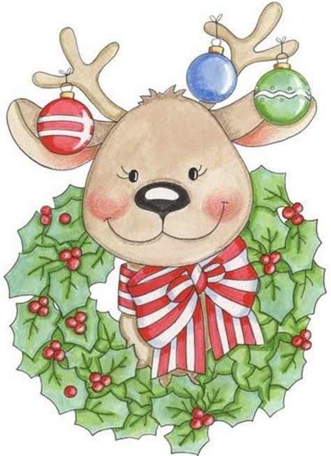 imagenes navidad country renos de navidad para imprimir