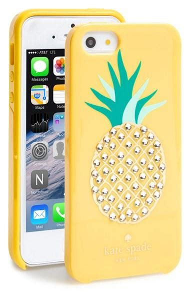 Softcase Katespade Iphone 5 1 kate spade new york pineapple iphone 5 from nordstrom things