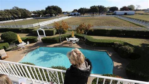 Backyard Pools Tv Show Southfork Ranch Draws Dallas Fans And New