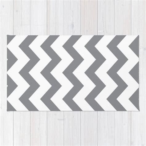 white and gray chevron rug chevron area rug gray and white chevron printed rug modern