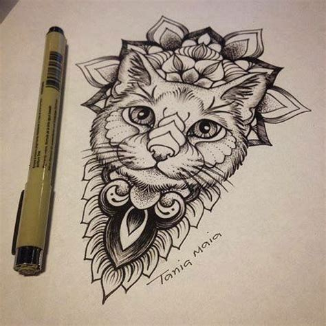 pattern cat tattoo 1367 best desenhos images on pinterest drawings drawing