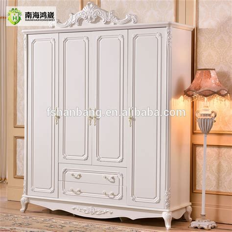 french baroque style hand carved design  door ivory white