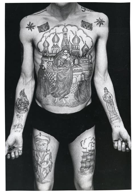 russian tattoos russian criminal archive files