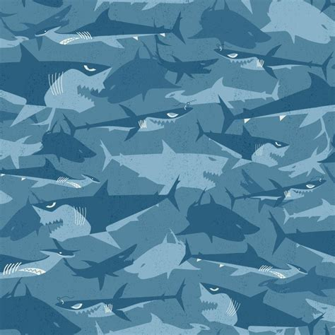 Shark Wall Murals shark wallpaper amp border wallpaper inc com