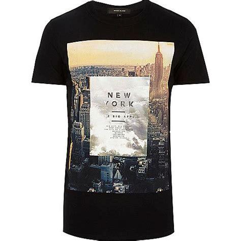 Tshirt New York black new york city print t shirt print t shirts t