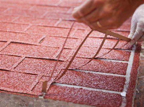 pavimento a secco per esterni pavimento per esterni stenciltop ideal work