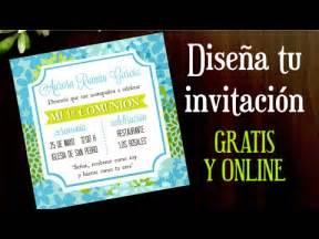 invitaciones para graduacion gratis como hacer una invitacion online gratis youtube