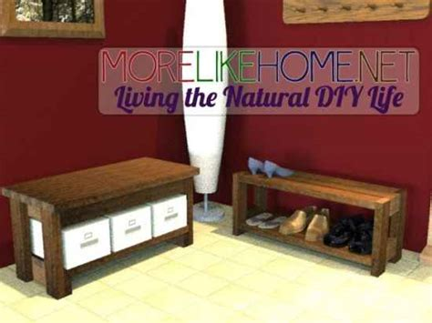 building a shoe rack bench 18 diy projects for the homestead using 2x4s