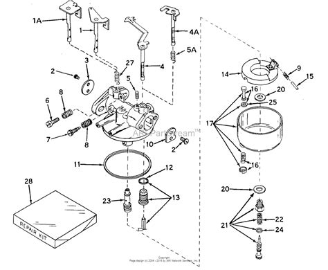walbro carb diagram tecumseh walbro 631498 parts diagram for carburetor