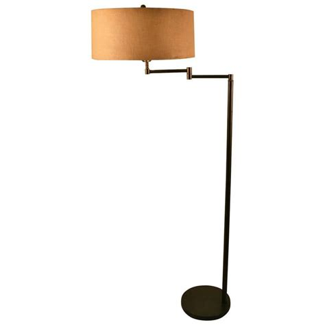 floor swing arm l brass swing arm floor l for sale at 1stdibs