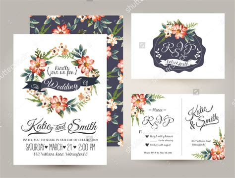 Wedding Flowers Brochure by 26 Wedding Brochure Templates Free Sle Exle
