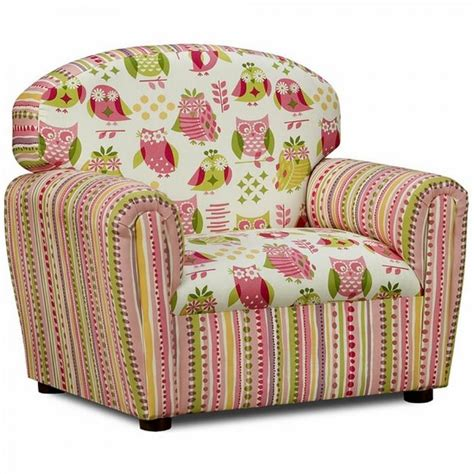 cute pattern chairs cute funky upholstered chair with owl pattern and vertical