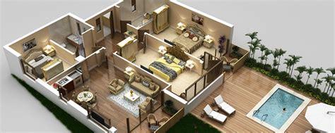 rental property floor plans 3d vacation rentals property floor plans