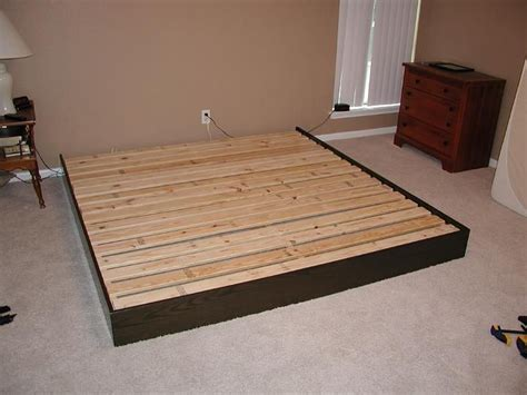 make a bed frame cheap how to make bed frame how to build a cheap platform bed