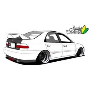 honda civic hatchback drawing pictures to pin on