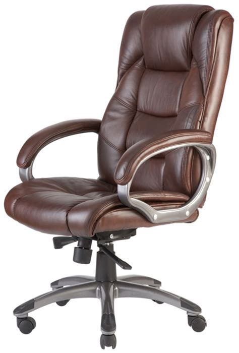 brown leather executive desk chair norway high back soft feel leather executive office chair