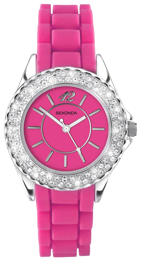 sekonda time bright pink 4307 163 25 49 from