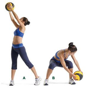 medicine ball swings improving your swing