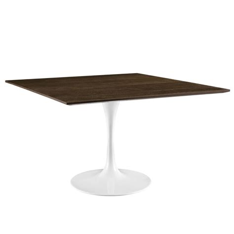 24 inch square table dusk square walnut wood table modern furniture