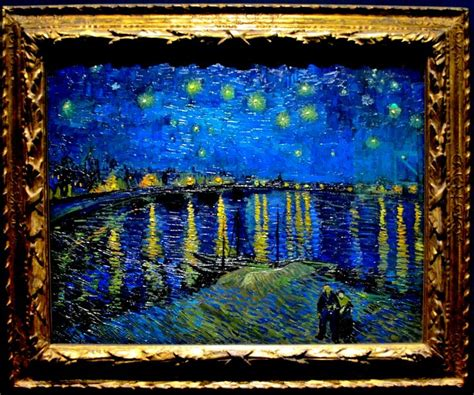 picasso paintings musee d orsay vincent gogh starry the rhone 1888 mus 233 e