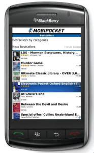 mobipocket reader blackberry crackberry diy how to turn your blackberry bold or into a kindle e book