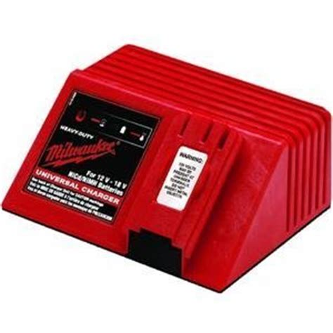resetting milwaukee battery milwaukee 48 59 0255 universal 12 volt to 18 volt nicad