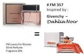 Bedak Givenchy parfum wanita aroma bunga mawar fm 357 toko parfum asli fm