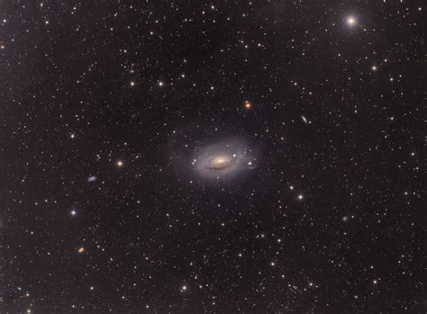 sunflower galaxy apod 2016 august 4 m63 sunflower galaxy wide field