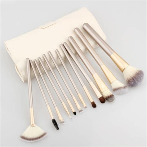 Mac Brush Set 12 Brushes professional makeup 12 brush set