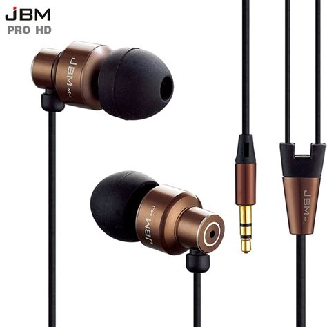 Headset Earphone original stereo bass earphone headphones metal headset 3 5mm earbuds for all mobile