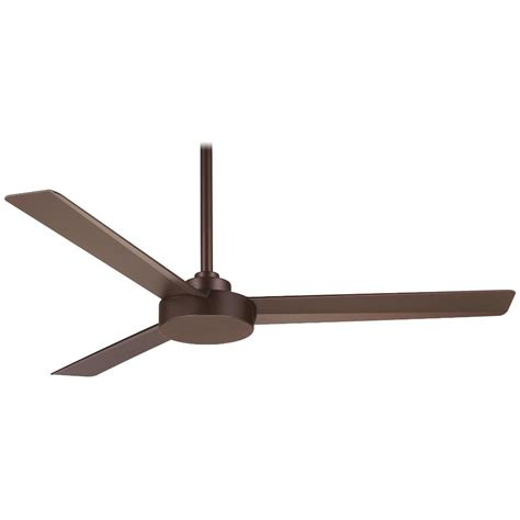 rubbed bronze ceiling fan minka aire f524 orb roto rubbed bronze 52 quot ceiling fan