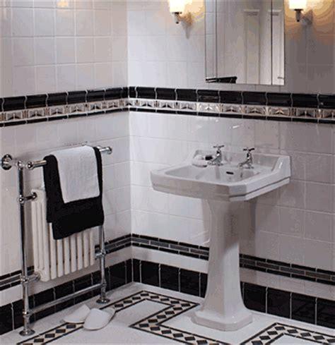 art deco black and white bathroom braxton and yancey art deco design