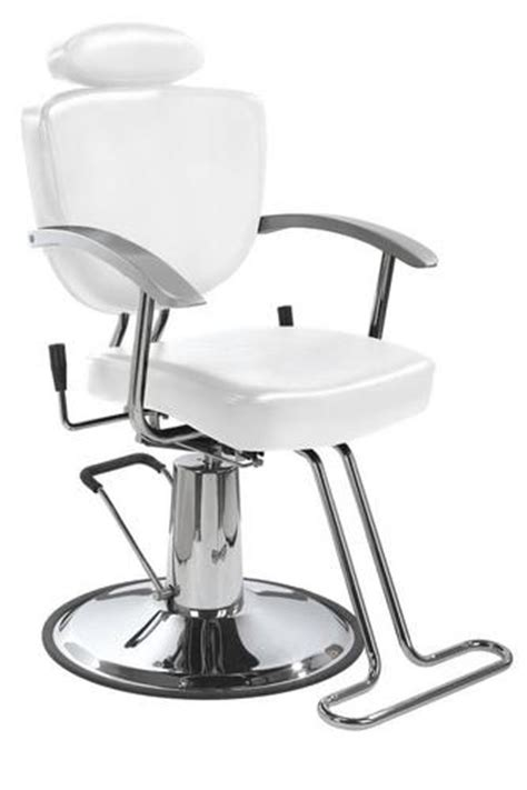 white reclining salon chair barber chair barbers and shoos on pinterest