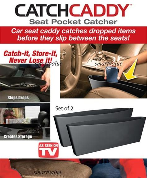 Promo Magic Box Caddy Catch Auto Organizers Seat Holder Car Pocket Jok seat pocket catcher catch caddy as seen on tv x 2 pcs in 1 box 11street malaysia consoles