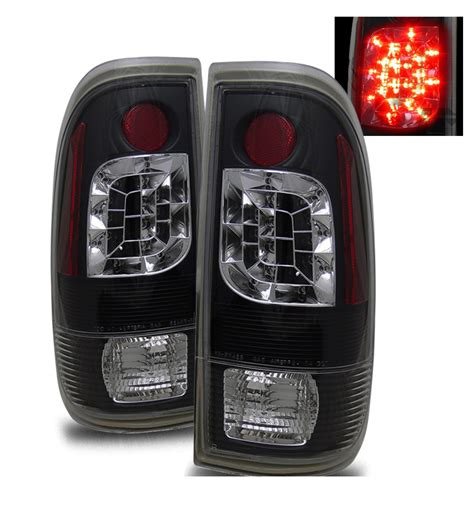 ford f250 tail lights 97 03 ford f150 f250 f350 euro style led tail lights