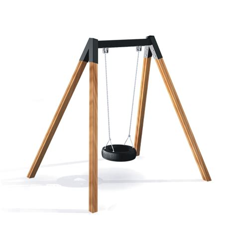 individual swings the single swing swings playground equipment lars laj