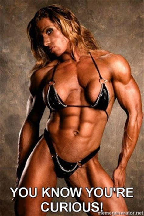 Female Bodybuilder Meme - fantasysharks com view topic not would you hit it how