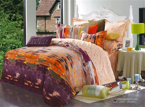 Orange And White Bedding Sets Vikingwaterford Page 16 Attractive Bedroom With Special Racecar Bed Charming King