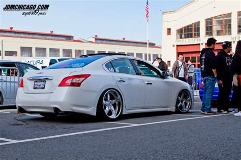 stanced nissan maxima image gallery slammed maxima