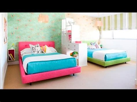 double bed bedroom ideas cute twin bedroom design with double bed for girls room
