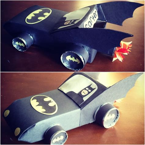 batman valentines day box batmobile s box crafts and ideas