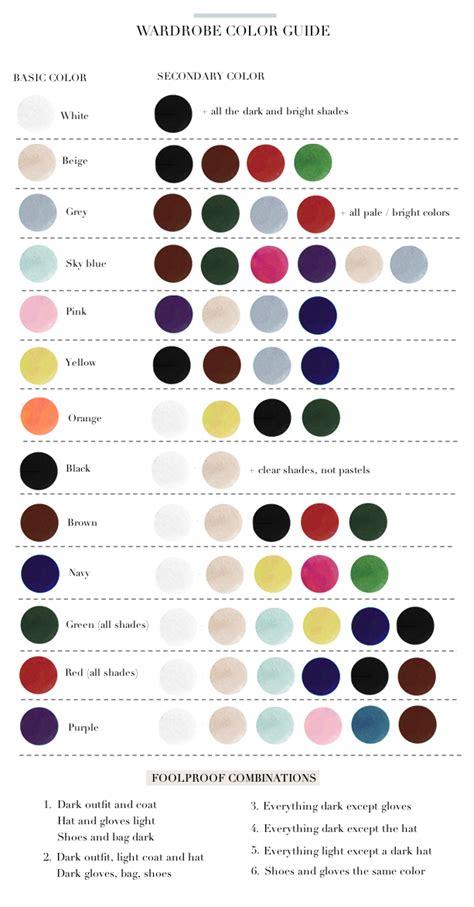 color matched paris to go wardrobe color guide