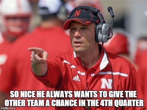 Nebraska Football Memes - mike riley husker satan imgflip