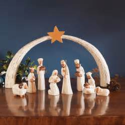 holy family nativity set by traidcraft