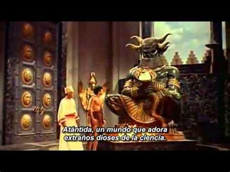 the lost trailer espa ol atlantis the lost continent 1961 trailer subtitulado